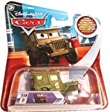 Disney Pixar Cars Lenticular Eyes - Pit Crew Member Sarge No.116