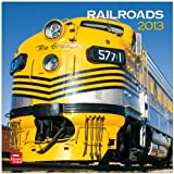 Railroads 2013 Square 12X12 Wall Calendar (Multilingual Edition)