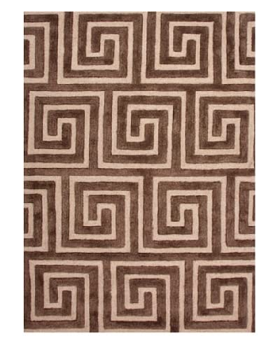 Jaipur Rugs Hand-Tufted Geometric Area Rug, Brown, 2' x 3'