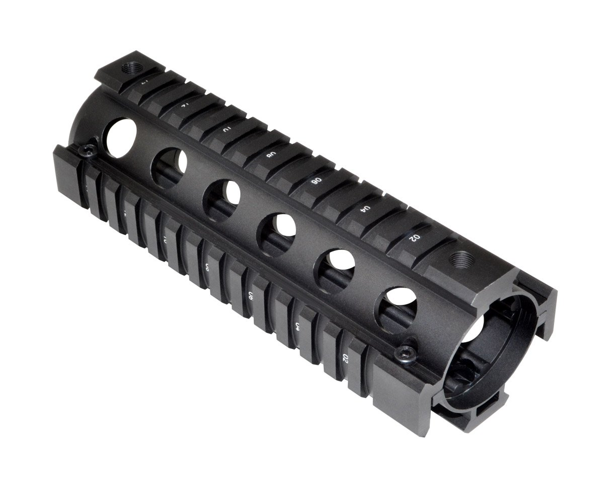 "Sniper® Two Piece 6.75"" Length Aluminum with Slots Round"