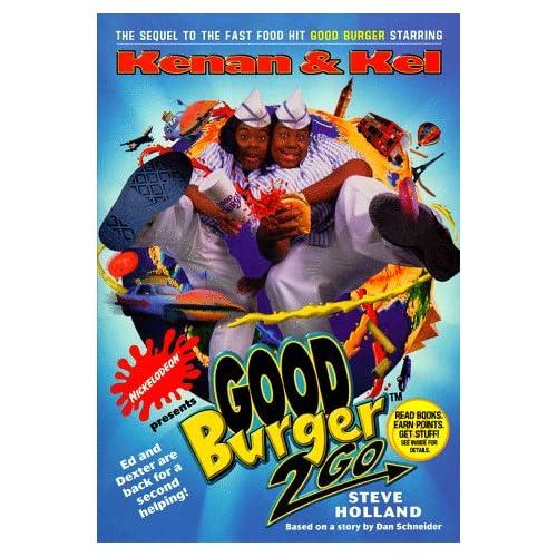 GOOD BURGER 2 GO: NICKELODEON: Steve Holland: 9780671023997: Amazon