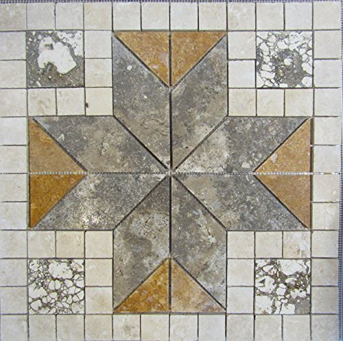 24-tumbled-travertine-and-volcano-stone-mosaic-medallion-floor-or-wall-tile-art