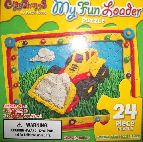 24-piece Puzzle: My Fun Loader [construction vehicles]