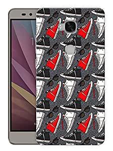 """Humor Gang Travel Life - Converse And Shades Printed Designer Mobile Back Cover For """"Huawei Honor 5X"""" (3D, Matte, Premium Quality Snap On Case)"""