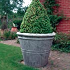 Large Garden Planter - Giant Stone Flower Plant Pot Vase