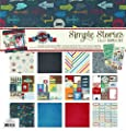 Simple Stories Simple Sets Hey Pop Scrapbook Collection Kit
