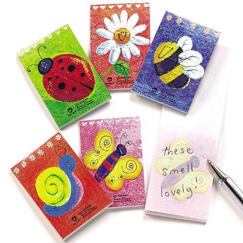 Mini Block Notes Profumati da Regalare alle Feste dei Bambini per Giocarci (confezione da 12)