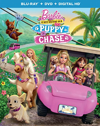 Barbie & Her Sisters in A Puppy Chase (Blu-ray + DVD + Digital HD)