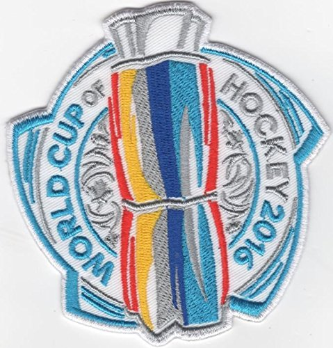 2016 WORLD CUP OF HOCKEY PATCH NATIONAL HOCKEY LEAGUE NHL WCH USA TORONTO CANADA