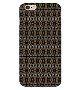 Curtains Cloth Design 3D Hard Polycarbonate Designer Back Case Cover for Apple iPhone 6