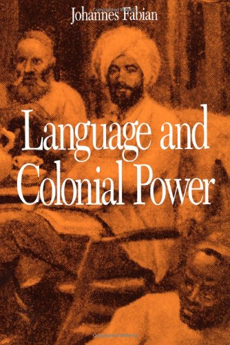 Language And Colonial Power: The Appropriation Of Swahili In The Former Belgian Congo 1880-1938 front-833425