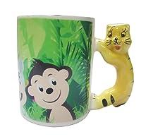 PrettyurParty Jungle Animal Mugs