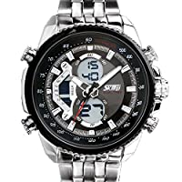 Globalfad Analogue Black Dial Men's Watch -GF-SKMEI-0076
