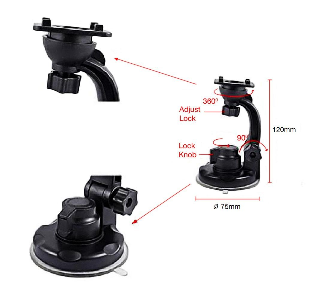 heavy duty cell phone car mount