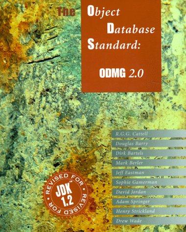 Object Database Standard: ODMG 2.0