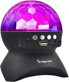 Erligpowht Stage Lights w/Wireless Bluetooth Speaker