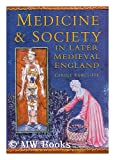 img - for Medicine and Society In Later Medieval England book / textbook / text book