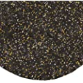 "Andersen 443 Gold Nitrile Rubber Hog Heaven Confetti Anti-Fatigue Mat with Black Border, 3' Length x 2' Width x 5/8"" Thick, For Indoor"