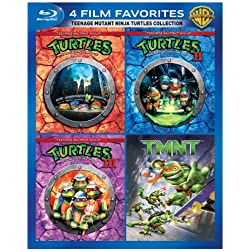 4 Film Favorites: Teenage Mutant Ninja Turtles Collection [Blu-ray]
