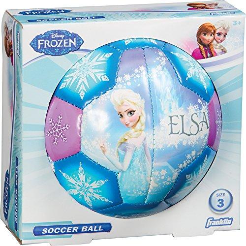 Franklin Sports Disney Frozen Size 3 Soft Foam Air Tech Soccer Ball - Elsa/Anna (Airtech Football compare prices)