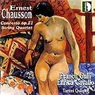 Concerto Op. 21, Quatuor A Cordes Op. 35
