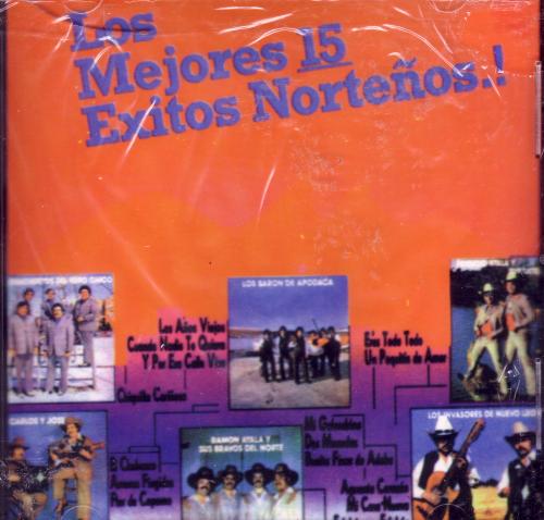 Amazon.com: Various Artists: Los Mejores 15 Exitos Nortenos: Music