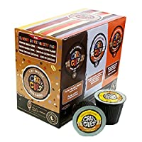 Crazy Cups Decaf Flavored Lovers Single Serve Cups for Keurig K Cups Brewer, 24 count