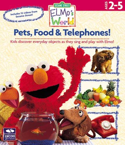 Sesame Street Elmo's World - Pets, Food, Telephone