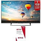 Sony XBR-49X800E 49-inch 4K HDR Ultra HD Smart LED TV (2017 Model) w/ Netflix $30 Gift Card + 1 Year Extended Warranty