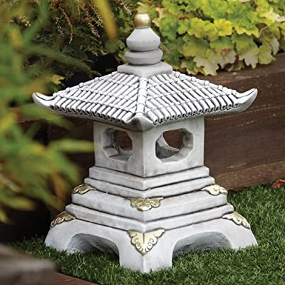 Chinese Garden Ornaments - One Tier Japanese Pagoda Lantern