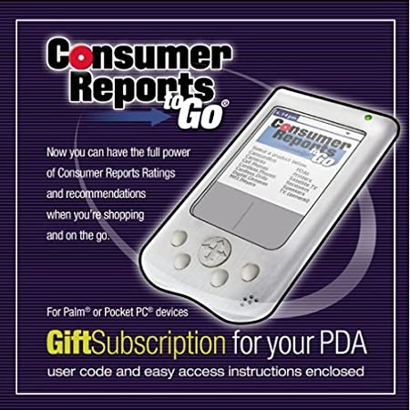 Consumer Reports to Go Gift Subscription