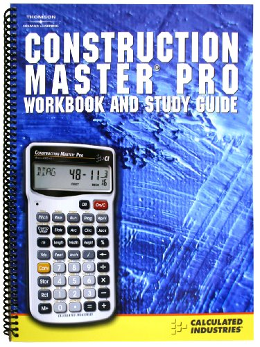 construction master pro workbook and study guide pdf