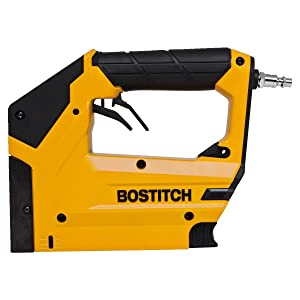 BOSTITCH BTFP3KIT 3-Tool Portable Air Compressor Combo Kit (Color: Yellow, Tamaño: 21.1 x 19.5 x 18 inches)