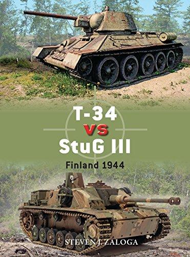T-34 vs StuG III Finland 1944 (Duel) [Zaloga, Steven J.] (Tapa Blanda)