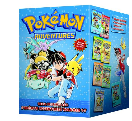Pokemon Adventures Red & Blue Box Set (set includes Vol. 1-7) (Pok mon)
