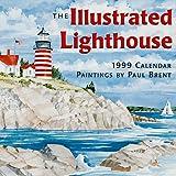 Cal 99 Illustrated Lighthouses Calendar (1569061130) by Brent, Paul