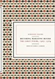 Becoming Marianne Moore: Early Poems, 1907-1924 (0520221397) by Marianne Moore