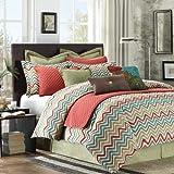 Hampton Hill Las Brisas Duvet Style Comforter Set, Queen, Multicolor