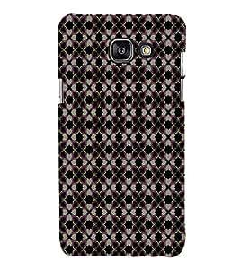 EPICCASE dark flowers Mobile Back Case Cover For Samsung Galaxy A7 (2016) (Designer Case)