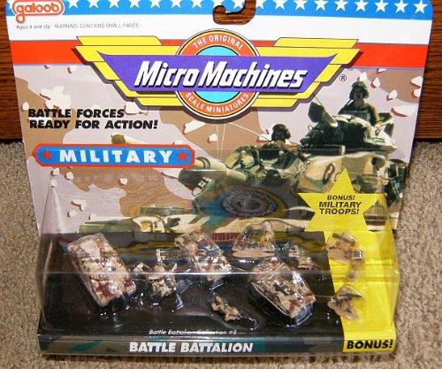 Micro Machines Battle Battalion #8 Military Collection