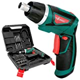 LANNERET Cordless Screwdriver Rechargeable 7.2 Volt 1500mAh Li-ion Power Screw Guns with Twistable Handle & 48 Piece Drill and Screw Accessories,BMC Packing (Color: Green and Black, Tamaño: 7.2V Cordless Screwdriver sets(BMC))