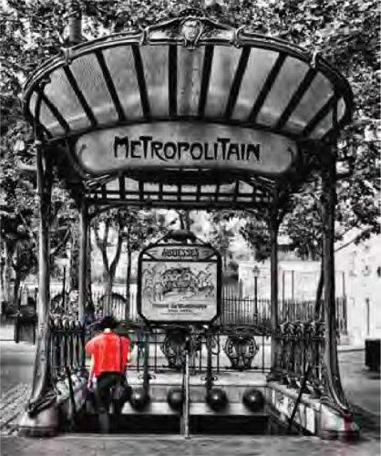 Tomasucci Paris metro' quadro con telaio