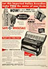 1953 Ad S Soprani Italian Accordion Musical Instrument 2003 West Chicago Ave IL - Original Print Ad