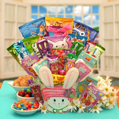 Peter Cottontail's Easter Candy Bouquet