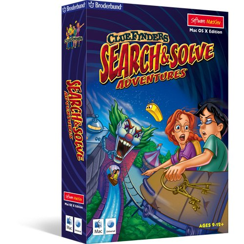 ClueFinders Search & Solve Adventures - OS X
