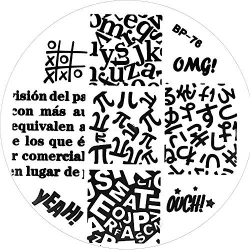 stamping-schablone-bp-76-yeah-ahia-omg-lettere