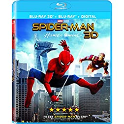 Spider-Man: Homecoming [Blu-ray 3D + Blu-ray]