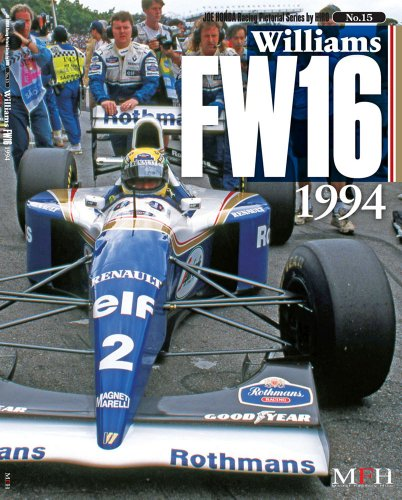 Williams FW16 1994 ( Joe Honda racing Pictorial series by HIRO No.15) (ジョーホンダ写真集by)