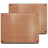 ST2 (Two-Pack) StripBoard, Uncut Strips, 1 Sided PCB, Size 2 = 100 x 80mm (3.94 x 3.15in)