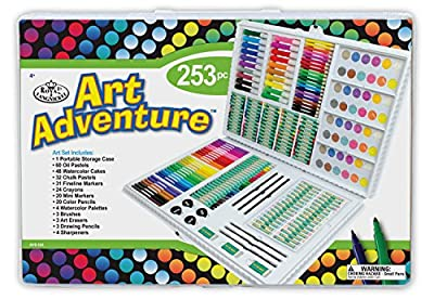 Royal Brush Manufacturing Company Art Adventure 253-Piece Art Set